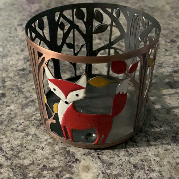 Bath and Body Works Fall Candle Holder